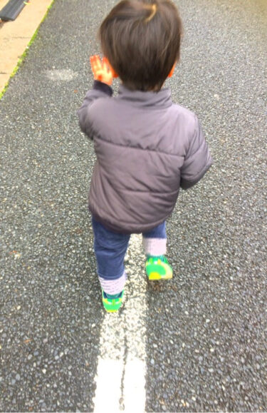 【復職ママの時短遊び】理性の土台を育てる「道路の白線!」